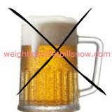 drinking alcohol bad for weight loss