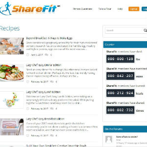 Sharefit sites for healthy recipes